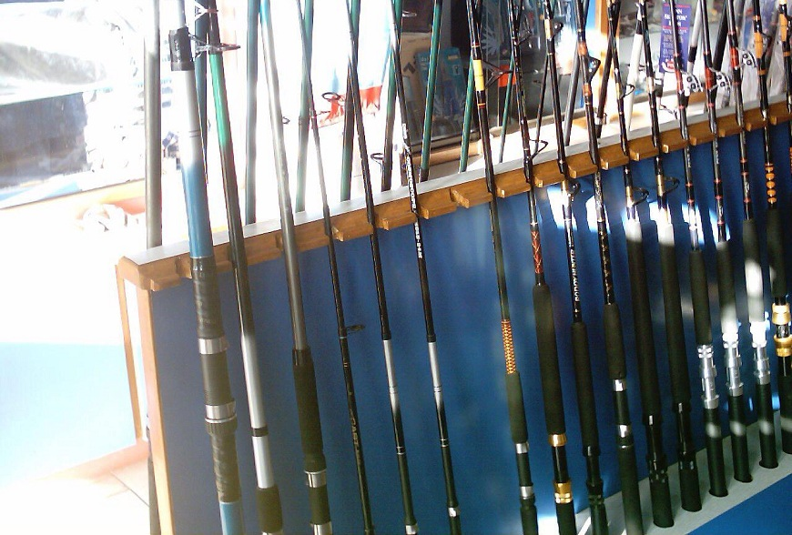 Fishing Rod Collection at Mahigeer Water Sports